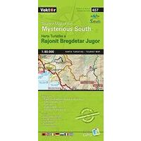 Vektor Maps Toeristische Kaart 457 Mysterious South