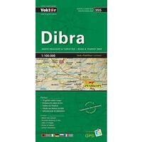 Vektor Maps Wegenkaart 355 Dibra Prefectuur