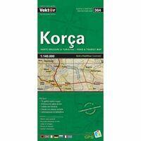 Vektor Maps Wegenkaart 364 Korca Prefectuur