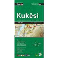 Vektor Maps Wegenkaart 367 Kukesi Prefectuur
