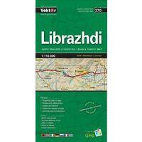 Vektor Maps Wegenkaart 370 Librazhdi Prefectuur