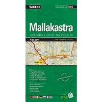 Vektor Maps Wegenkaart 373 Mallakastra Prefectuur