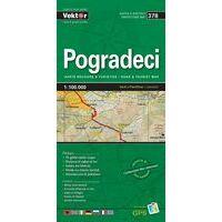 Vektor Maps Wegenkaart 378 Pogradeci Prefectuur