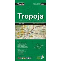 Vektor Maps Wegenkaart 385 Tropoja Prefectuur
