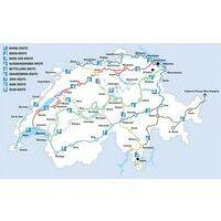 Veloland Schweiz Fietsgids Nr 9 Seen Route
