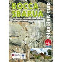 Versante Sud Klimkaart Rocca Sbarua (Piemonte) Climbing Map
