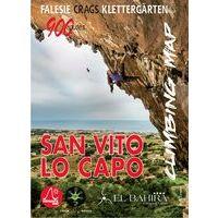 Versante Sud Klimkaart San Vito Lo Capo Climbing Map (Sicilië)