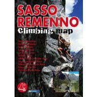 Versante Sud Klimkaart Sasso Remenno Climbing Map