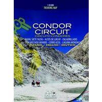 Viachile Editores Wandelkaart Condor Circuit