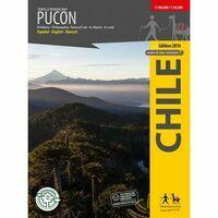Viachile Editores Wandelkaart Pucon