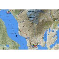 Viachile Editores Wandelkaart Torres Del Paine Trekking Map