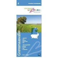 VVV Zuid-Limburg Wandelkaart 4 Grensmaasvallei 1:25.000