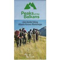 Huber Verlag Wandelkaart Peaks Of The Balkans
