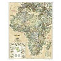 National Geographic Wandkaart Africa Politiek-Antiek