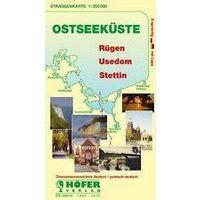 Trescher Verlag Wegenkaart Ostseekuste - Rugen, Usedom, Stettin