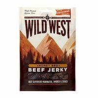 Wildwest Beef Jerky Honey BBQ 70 Gram