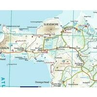 Xploreit Maps Fietswandelkaart County Clare