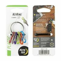 Nite Ize Keyring 6 S-biners Stainless Steel