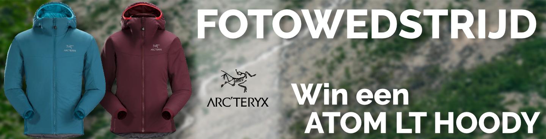 fotowedstrijd, win een Arc'teryx Atom LT Hoody!